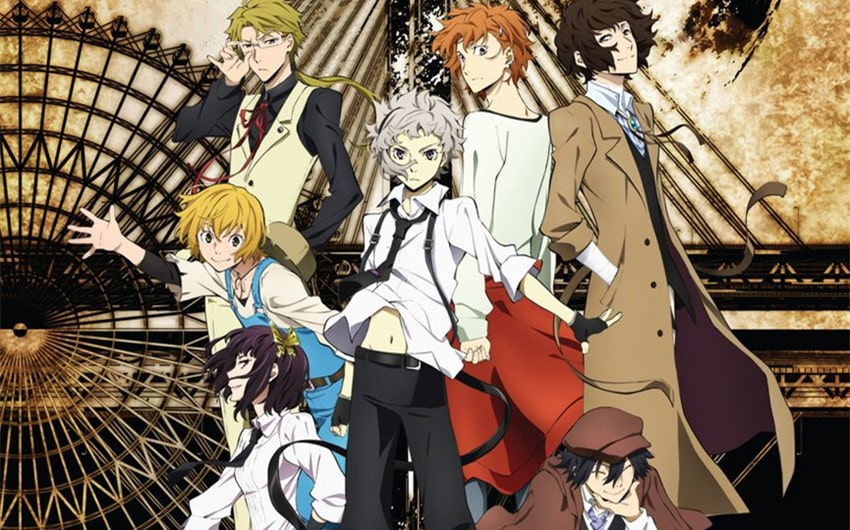 how many seasons does bungo stray dogs have